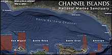channel islands interactive map